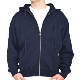 100% Heavy Cotton Hooded Zip-Up Sweatshirt Hoody Made in Canada