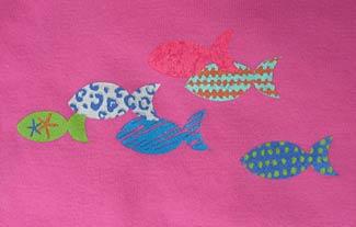 School of Fish on Sorbet