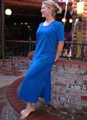 Cotton Dress Short Sleeve